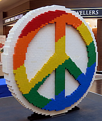 Willowbrook Shopping Centre - LEGO Peace Garden
